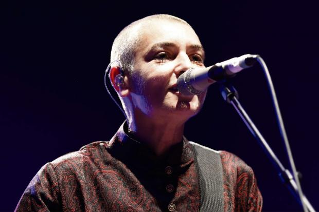 Sinéad O'Connor in concert. Photo by Pymouss via Wikimedia Commons(8092579)