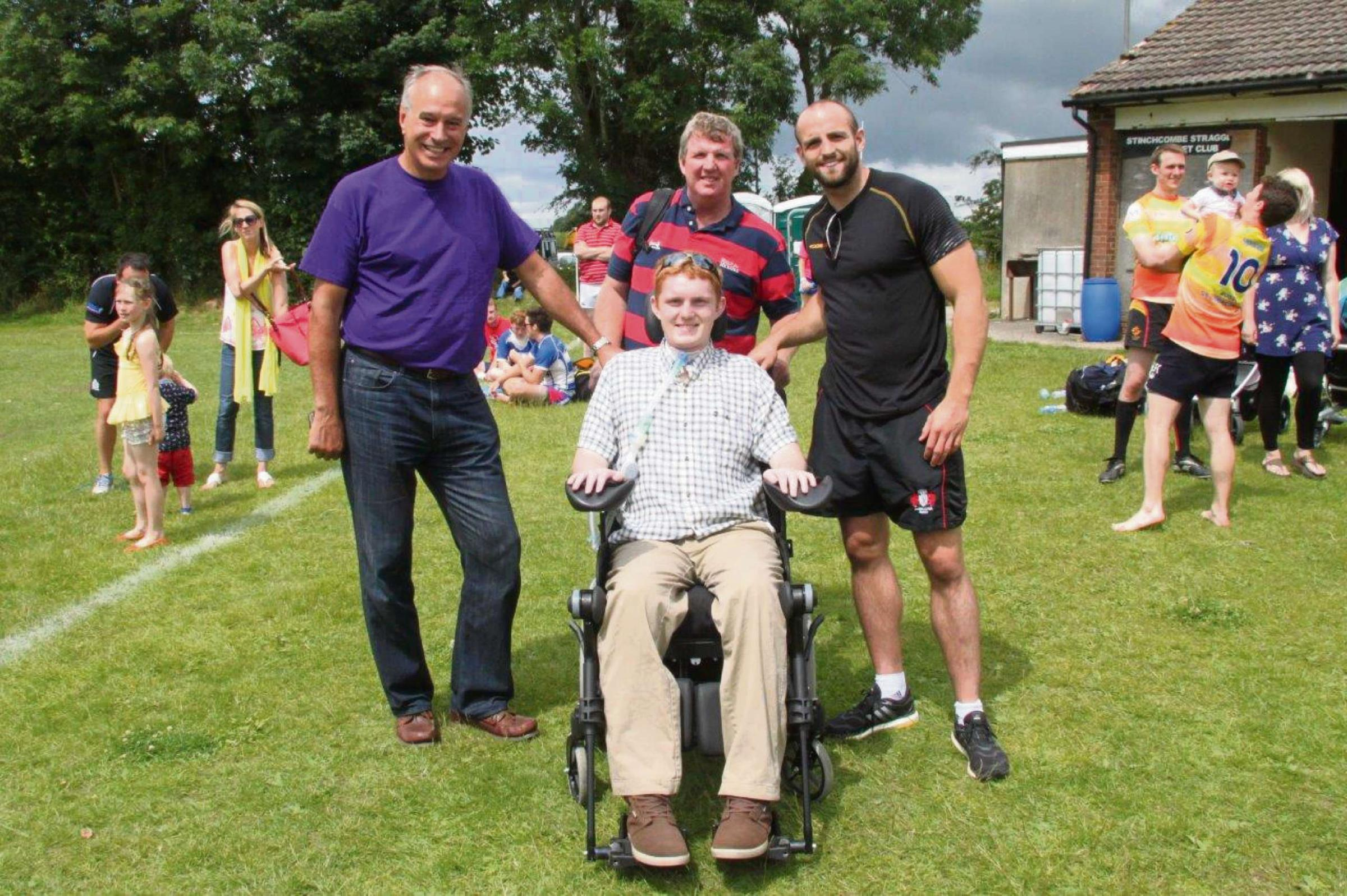 TOUCH RUGBY: Dursley RFC tournament raises more than £5000 for injured player Rob Camm and Matt Hampson Foundation