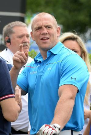 Gloucester and England rugby player Mike Tindall