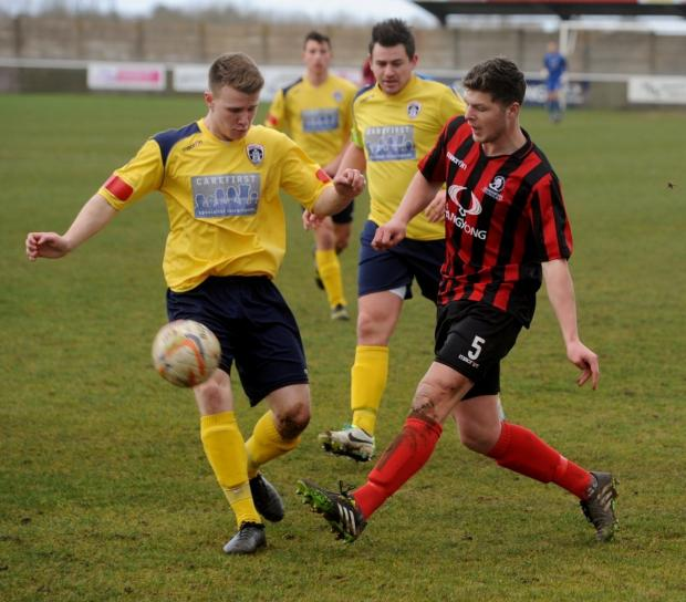 Two-goal Matt Liddiard of Cirencester Town