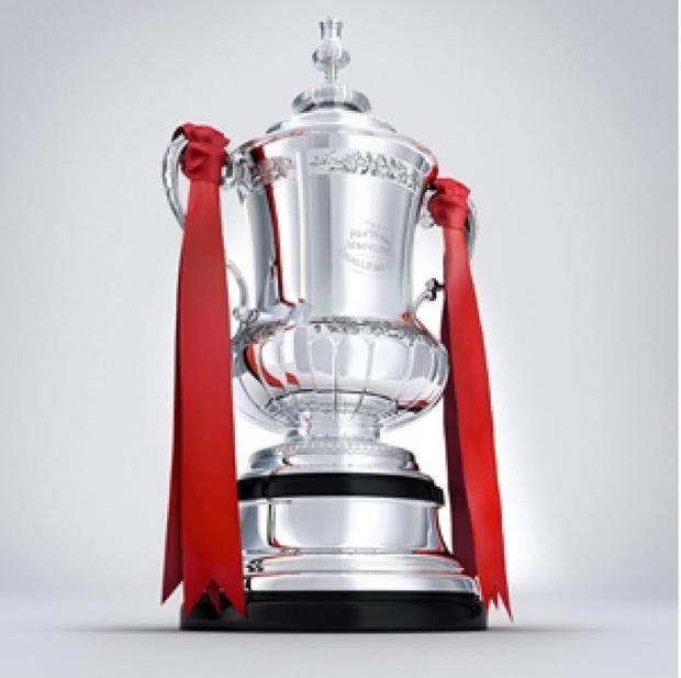 The FA Cup Trophy which is coming to Fairford Town FC's ground on Saturday afternoon  (9212214)