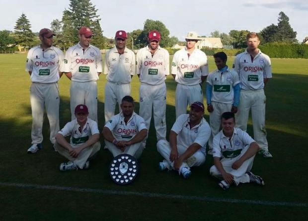 The successful Lechlade T20 winning finalists