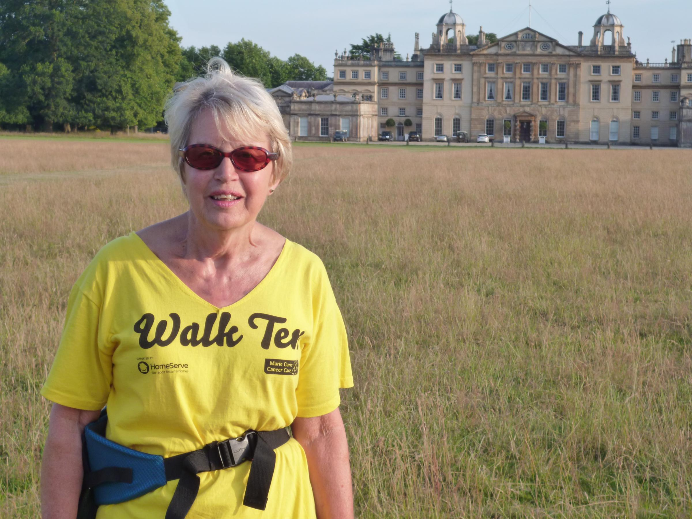 New pacemaker no obstacle to Marian's charity walk