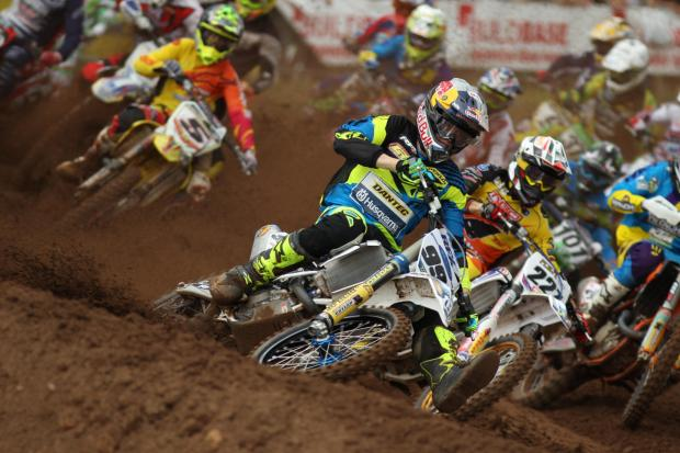 Exciting action from a previous round of the Maxxis ACU British Motocross Championship series (8867633)