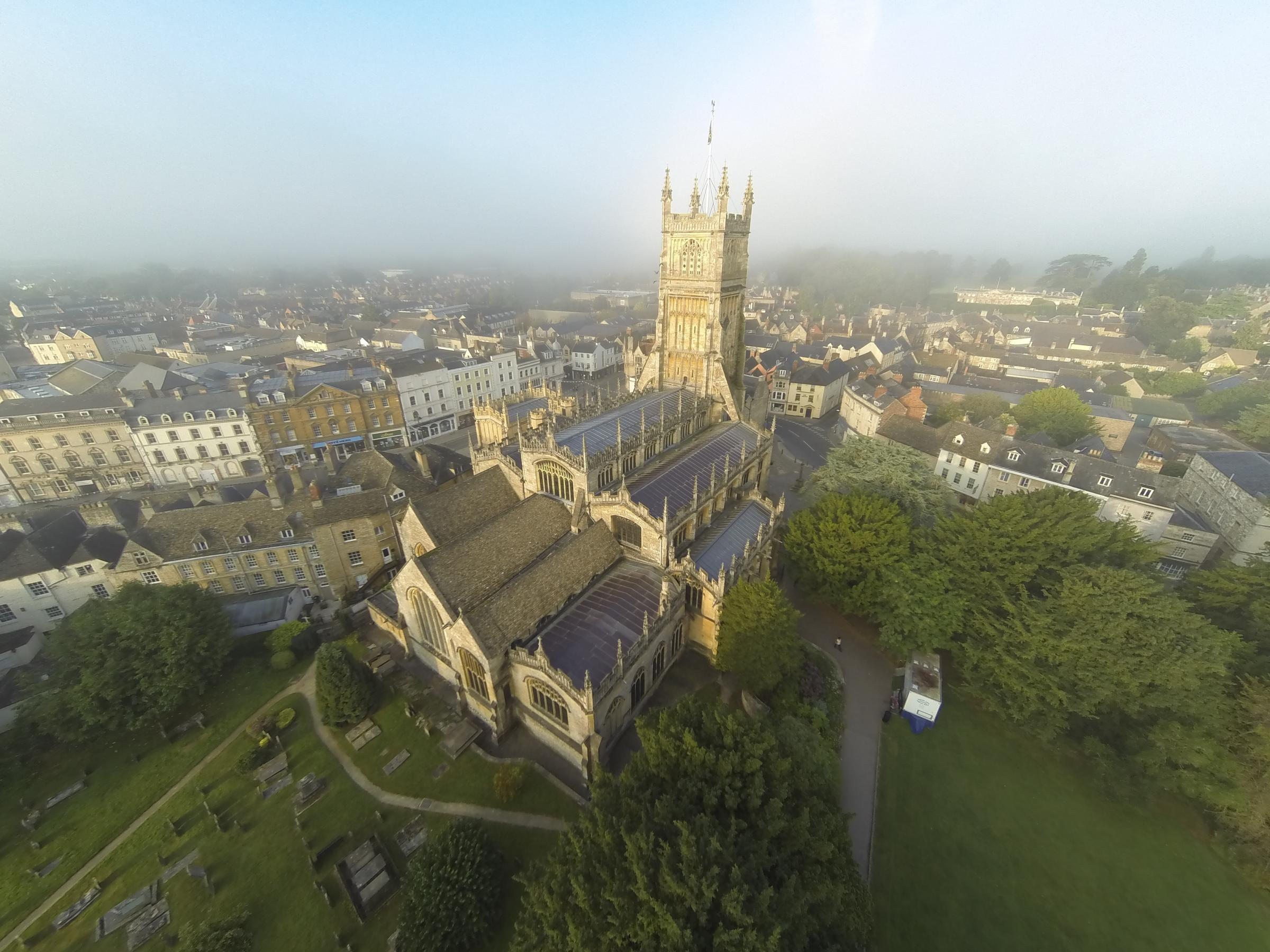 Drone photography business takes off in Cirencester