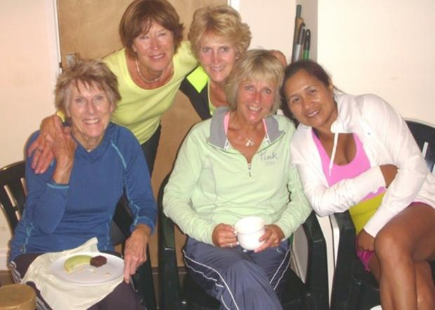 League winners: The Cerney Lakes ladies A team (l-r): Carol Richardson, Maureen Henshall, Maggie Fillingham, Ann Ashcroft and Charlie Foster (9155679)