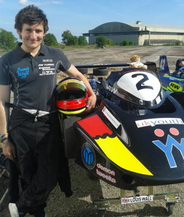 Cirencester karting ace Louis Wall (9191952)