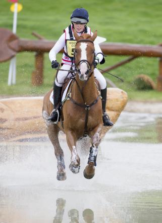 Anna Wilks of Team GB, aboard Touch of Pleasure, the gold medal-winning partnership at the FEI Junior European Championships