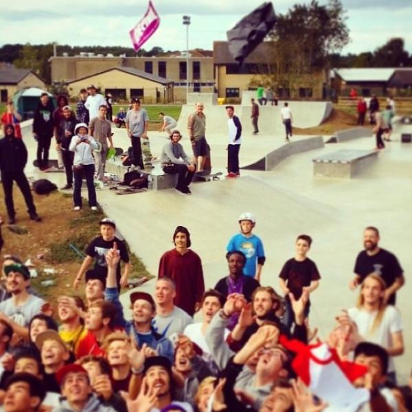 Hundreds turn up for launch of Cirencester Skate Park
