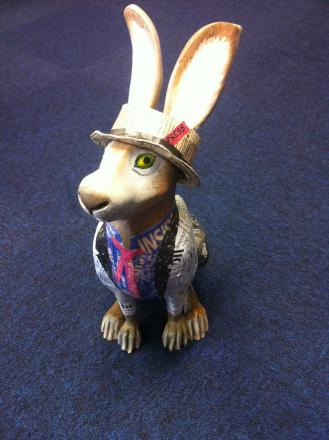 Dashing new hare Stan d'Ard