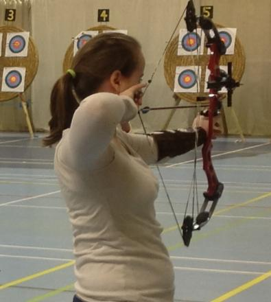 Cirencester archer Phoebe Pine