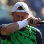 Wilts and Gloucestershire Standard: Lleyton Hewitt fell at the first hurdle at Flushing Meadows (AP)