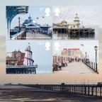 Wilts and Gloucestershire Standard: The new set of stamps of UK piers (Royal Mail/PA)