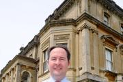Roland Martin, the head at Rendcomb College, who is stepping down from his role at the end of the academic year (7805090)