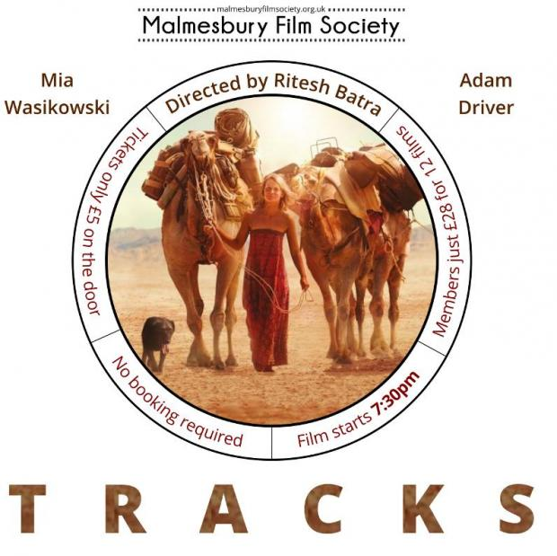 Malmesbury Film Society showing 'Tracks' this Sunday