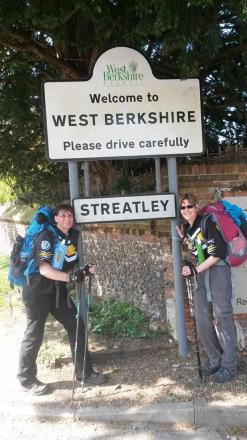 New Malmesbury police Sergeant completes 87-mile trek in four days for cancer charity