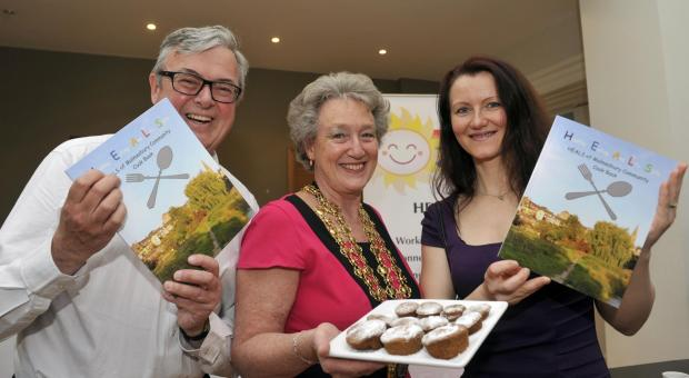 HEALS community cookbook launched at event in Malmesbury Town Hall