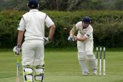 Freddie Martin hit a century for Lechlade off 103 balls