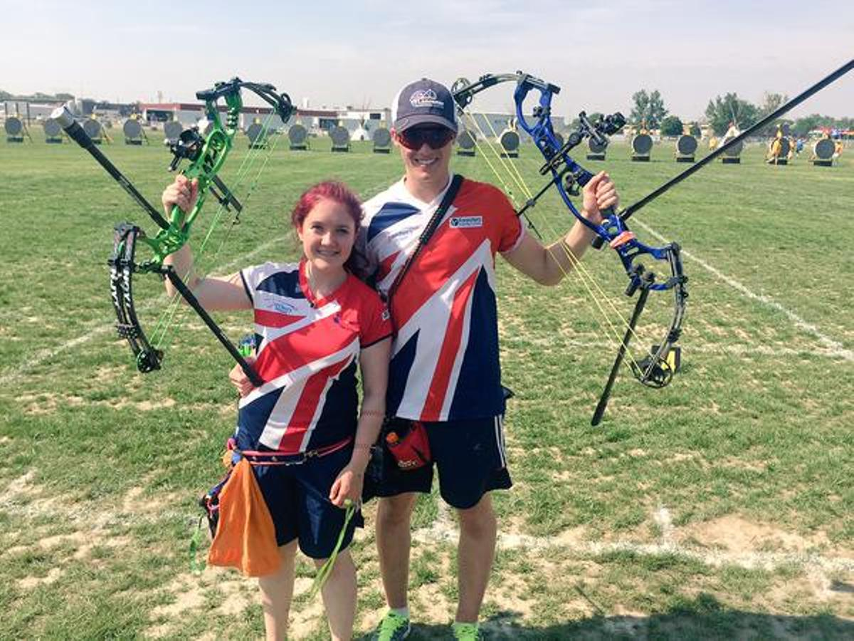 Lucy Mason and James Howse starred for GB at the world youth archery championships