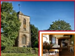 St John the Baptist church in Inglesham features in historic church trail