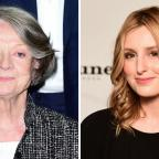 Wilts and Gloucestershire Standard: Can you see the likeness between Maggie Smith and Laura Carmichael? The Downton Abbey casting director certainly could