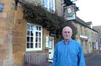John Bate will close The Queen's Head in Stow to avoid problems associated with the Gypsy Horse Fair.