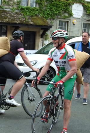 Wilts and Gloucestershire Standard: A rare sight it is to see cyclists sprint uphill with mini woolsacks strapped to their backs. This year, the popular Woolsack Races in Tetbury held brand new cycle races. Click here for more pictures.