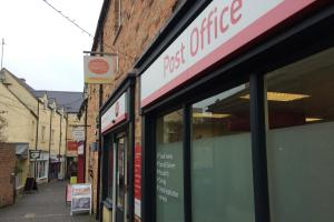 Cirencester Post Office's current premises