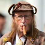 Wilts and Gloucestershire Standard: You won't believe what John McCririck looked like after he went on 100% Hotter