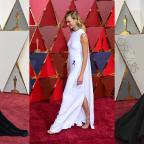 Wilts and Gloucestershire Standard: Kirsten, Karlie and Taraji in capes, gowns and glitter on the Oscars red carpet