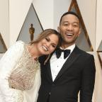 Wilts and Gloucestershire Standard: John Legend and Chrissy Teigen were 'couple goals' on the Oscars red carpet