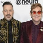 Wilts and Gloucestershire Standard: Sir Elton John celebrates 70th birthday at Los Angeles showbiz party