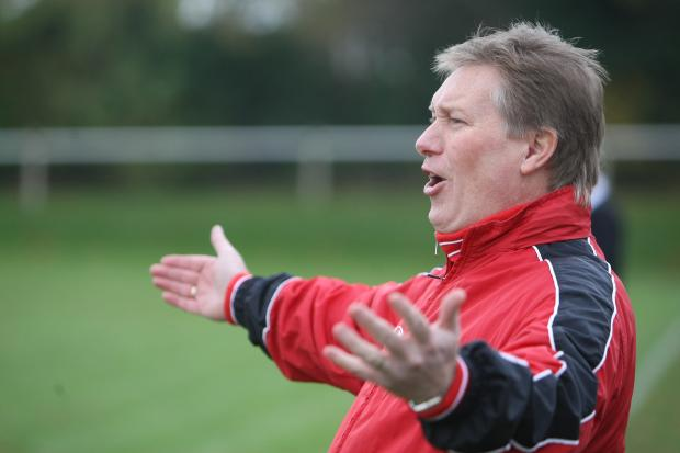 Former Purton manager Chris Pethick