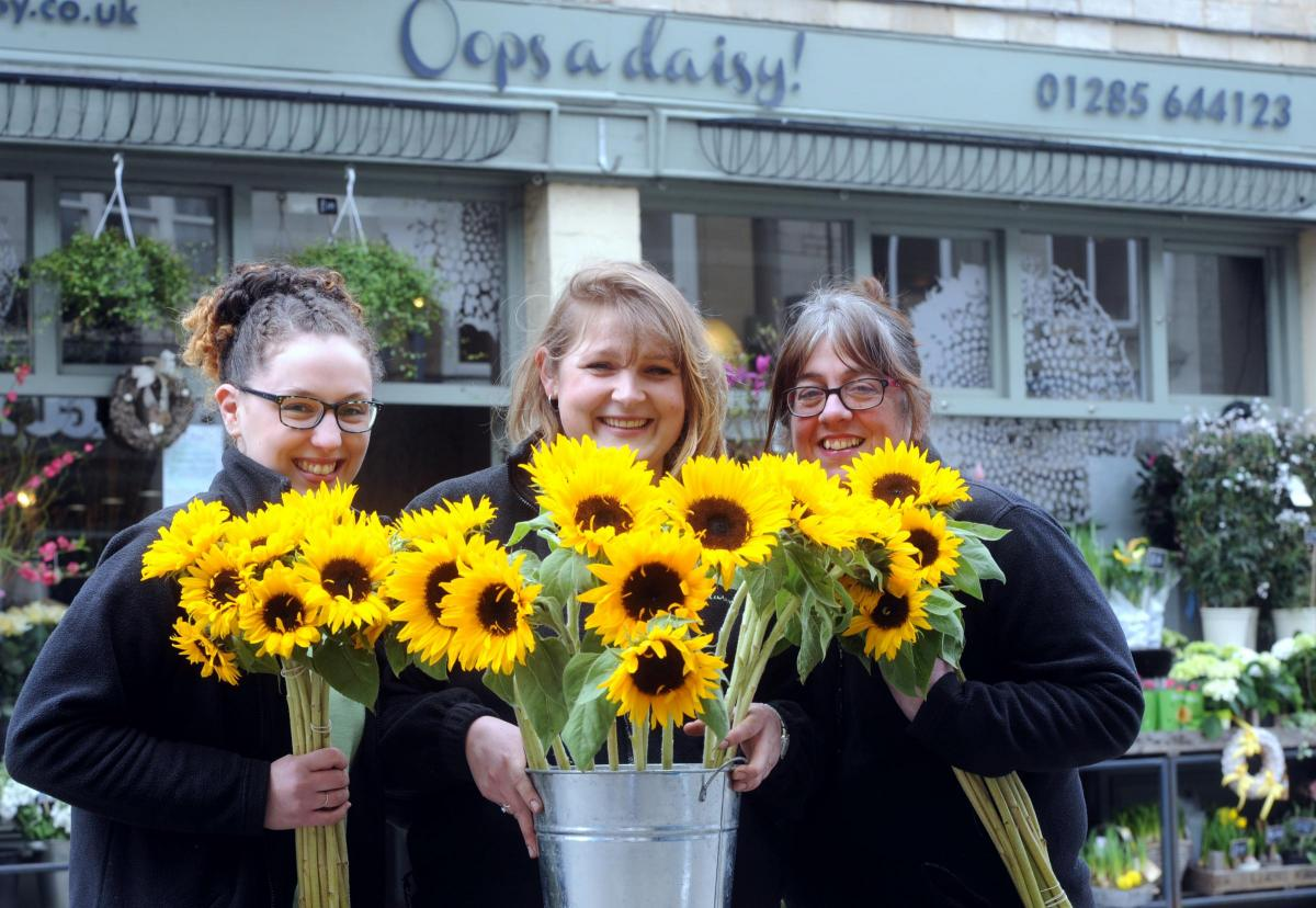 Oops A Daisy In Cirencester Selected As Florist Of The Month For