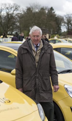 Wilts and Gloucestershire Standard: A hundred yellow cars passed through Bibury in a show of support for a pensioner who had his car vandalised allegedly for spoiling the view.