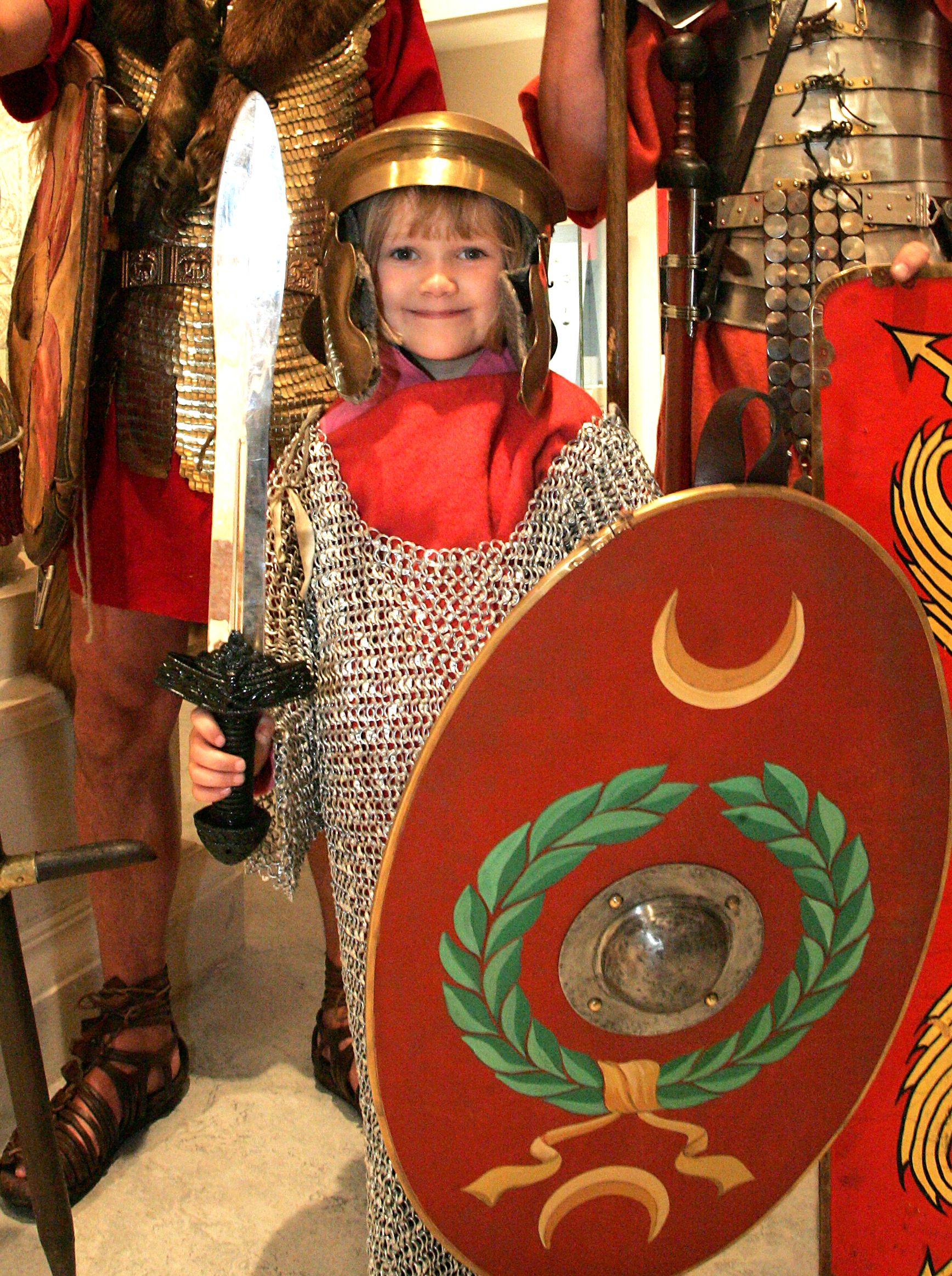 Roman Soldier on a Stick