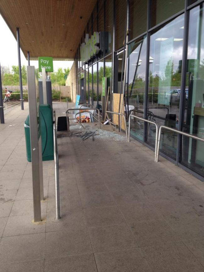 Updated Easter Sunday Raid At Waitrose In Malmesbury Wilts And