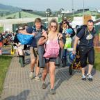 Wilts and Gloucestershire Standard: Glastonbury fans set to enjoy record 30C temperatures