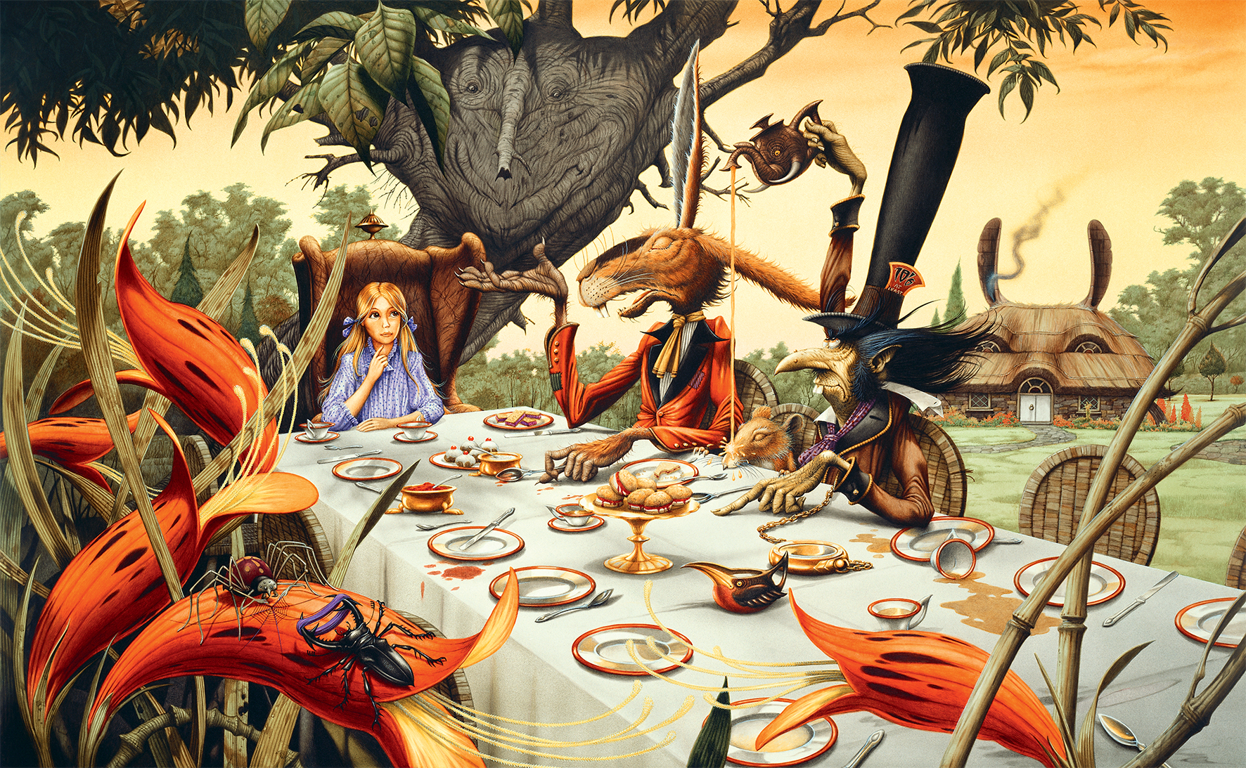 Alice in Wonderland and other tales
