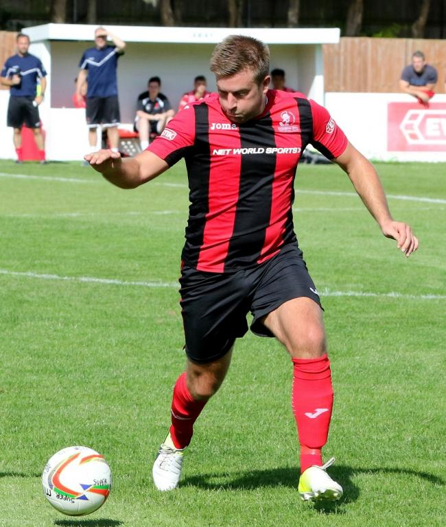 Michael Pook scored from the spot for Cirencester