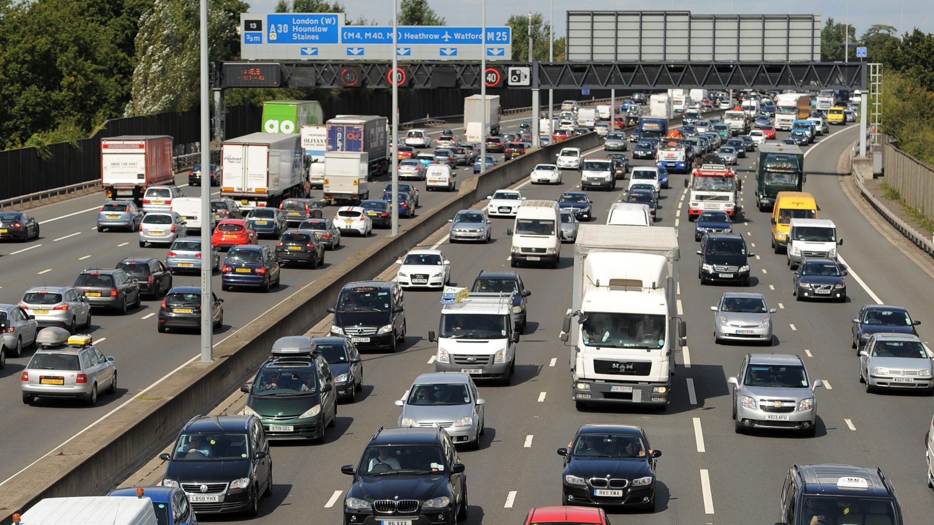 Rush hour traffic updates for the Cotswolds, South Gloucestershire and north Wiltshire