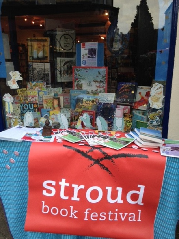 Book-lovers are in for an eclectic mix at Stroud Book Festival this weekend