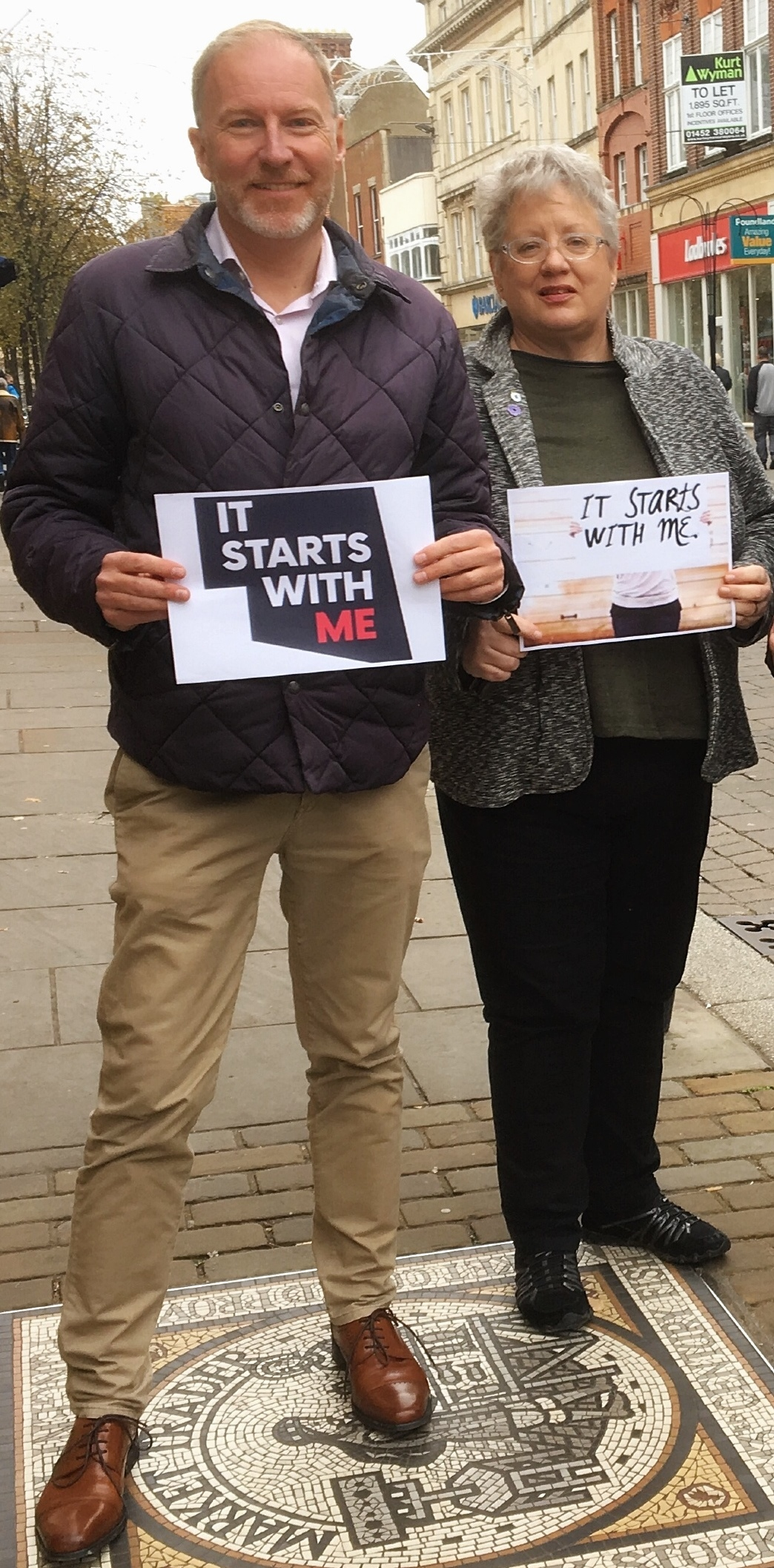 Cllr Paul Hodgkinson (left) spoke on the importance of regular HIV testing as National HIV Testing Week starts on Saturday