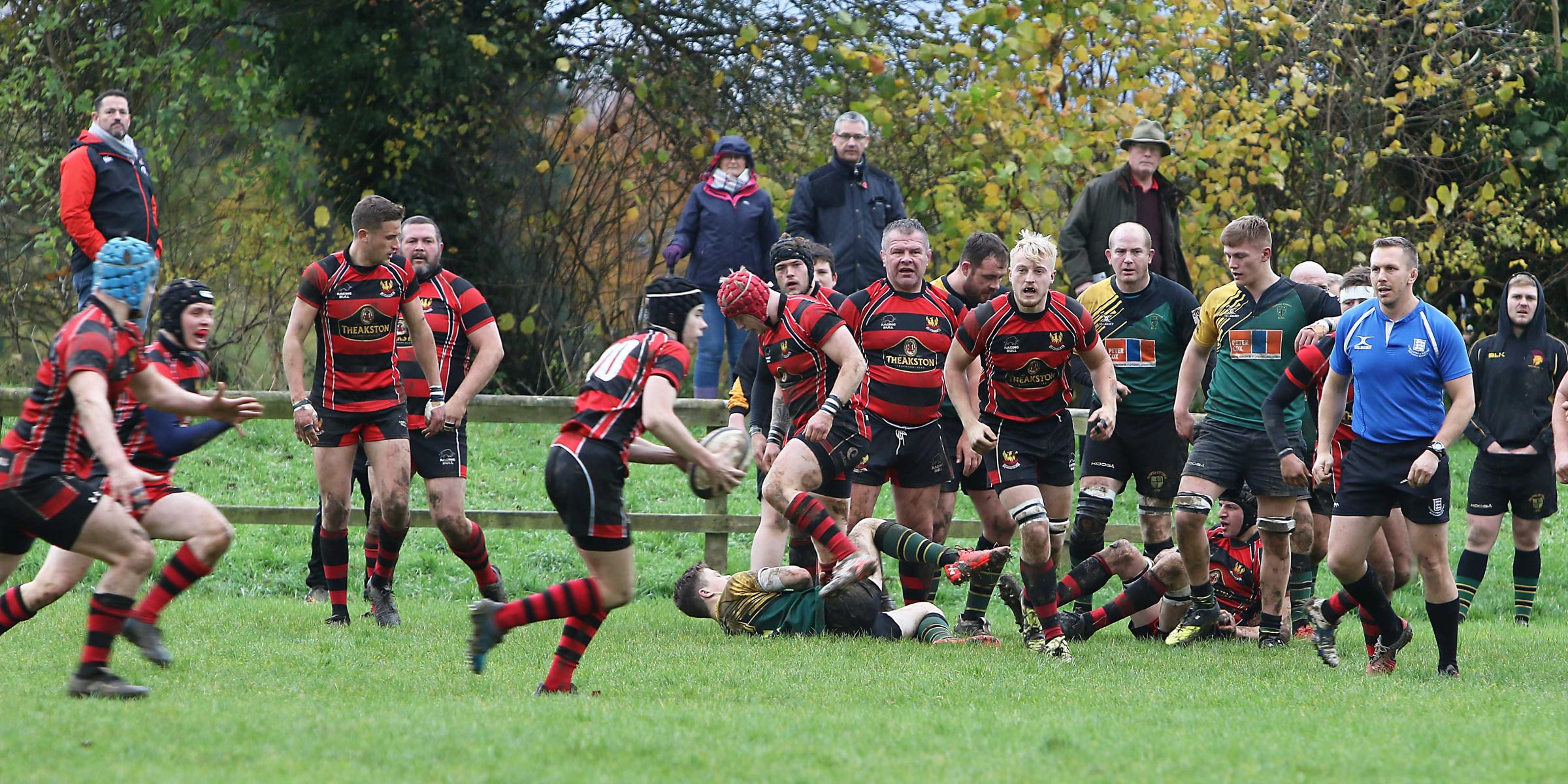 Cirencester RFC in action last weekend. Pic: John Hankin