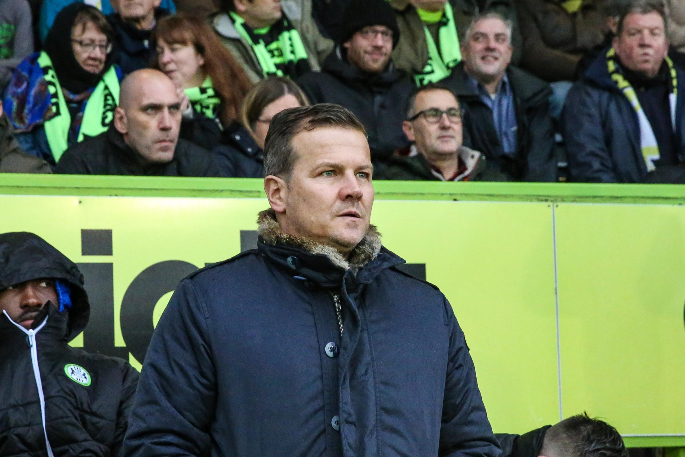 Mark Cooper nominated for second League Two Manager of the Month award