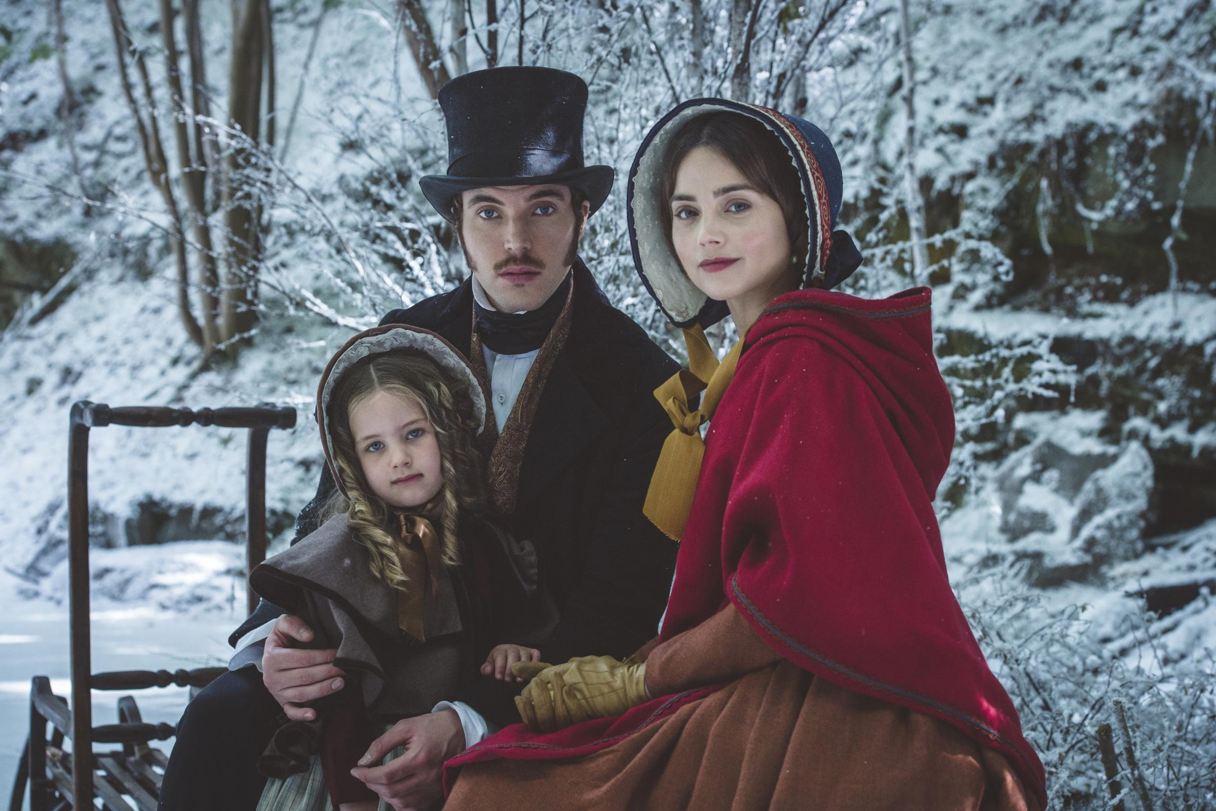 Victoria set for snowy and opulent Christmas in first-look pictures (ITV)