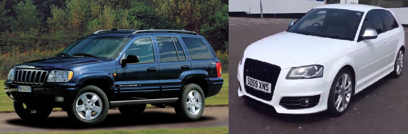 Pair of cars stolen overnight from Gloucestershire home