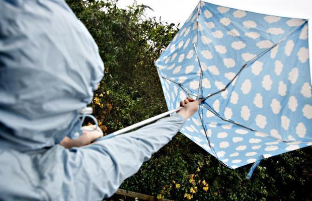 A weather warning is in place for Gloucestershire on Wednesday