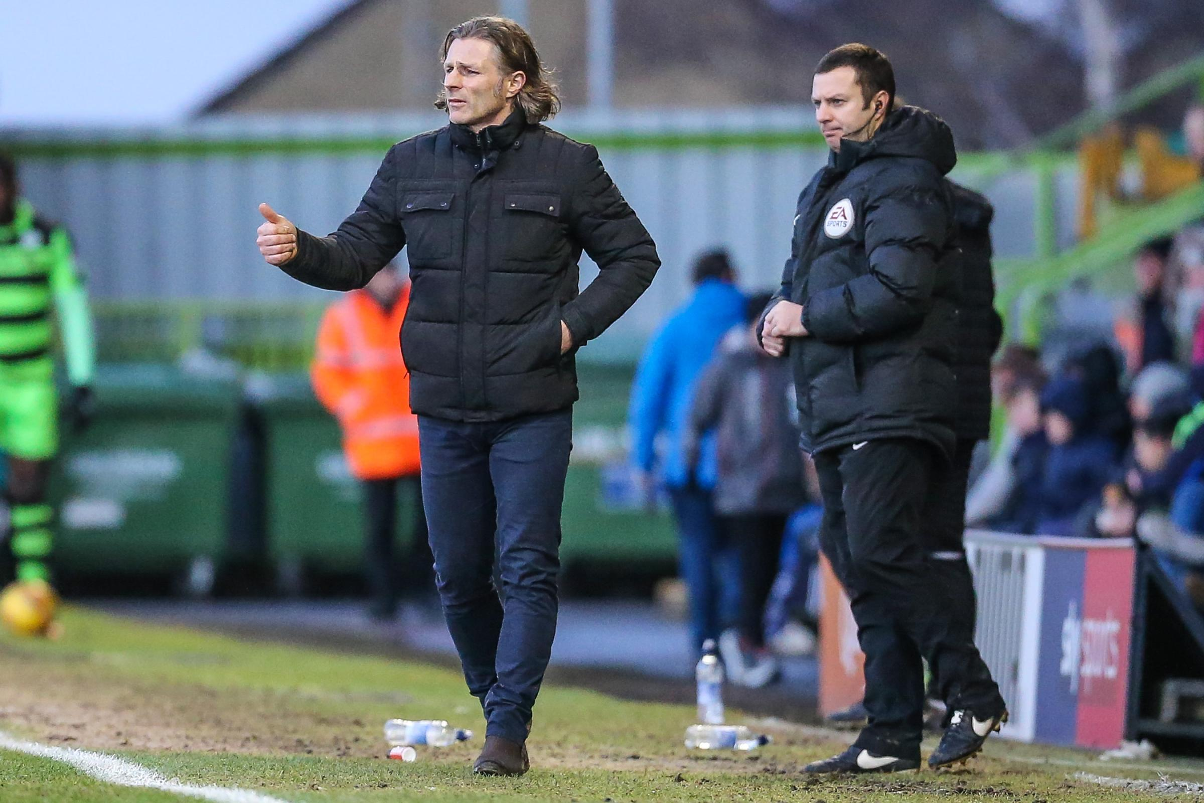 Wycombe boss Gareth Ainsworth                       Pic: Shane Healey/ Pro Sports Images