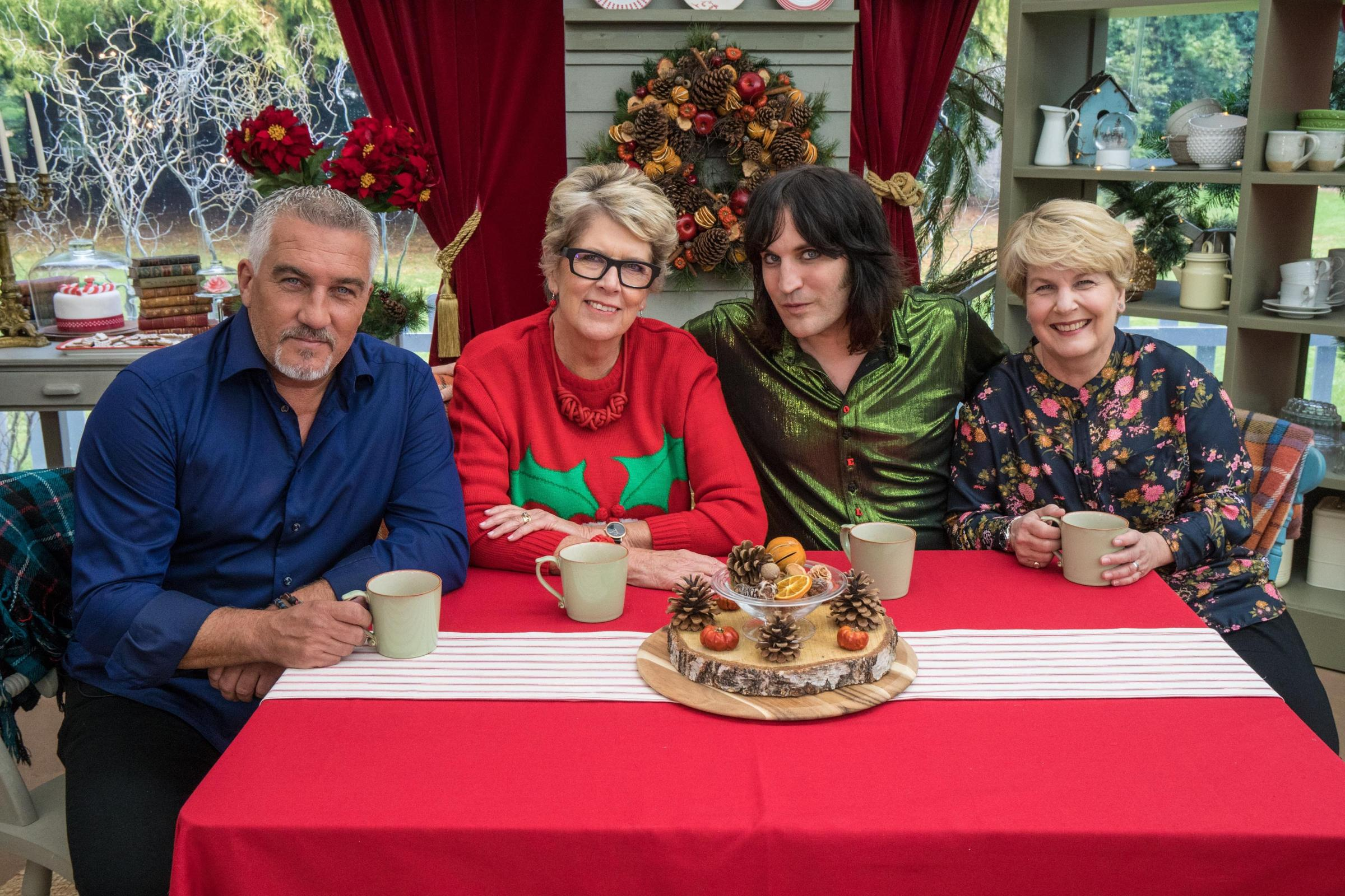 The Great British Bake Off – Paul, Prue, Noel and Sandi (Channel 4)